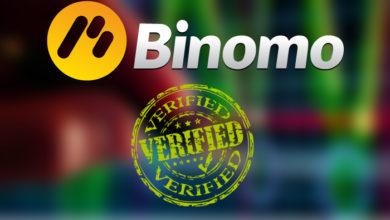 верификация на биномо