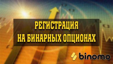 Регистрация на бинарных опционах