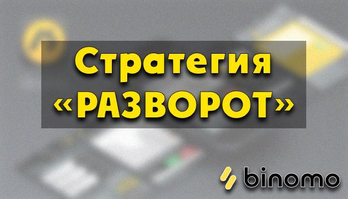 Стратегия разворот на бинарных опционах
